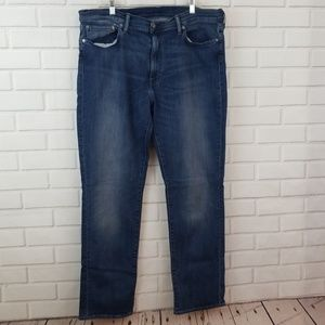 Levi's 511 Medium Wash Cotton Blend Denim Jeans